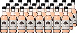 2016 Black Oak California White Zinfandel Wine 24 x 187 ml.