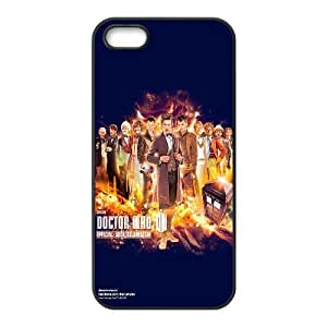 Doctor Who 50th Anniversary iPhone 5 5s Cell Phone Case Black L0546496