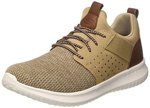 buy cheap pick a best discount latest collections Skechers Men's Classic Fit-Delson-Camden Sneaker Light Brown buy cheap amazon footaction sale online Yo68wZMt