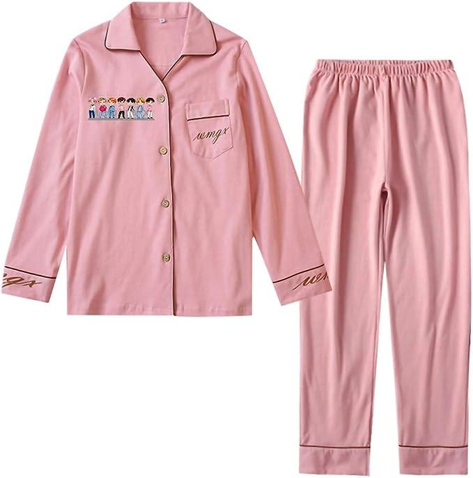 LIOMENLA Monsta X - Pijama de algodón para Mujer: Amazon.es: Ropa y accesorios