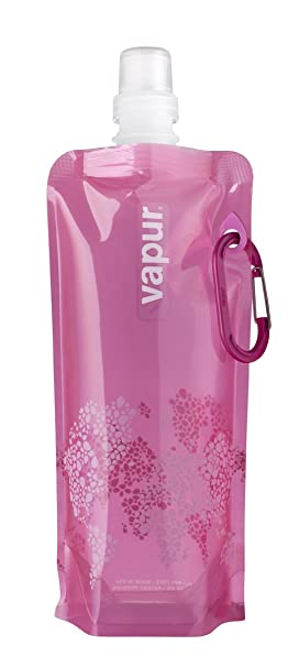 Vapur Reflex- Botella reutilizable de plástico, para agua- rosa, 0,5