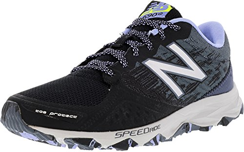 New Balance Women's wt690 Trail Running Sneaker,Black/Grey,10.5 B US by New Balance