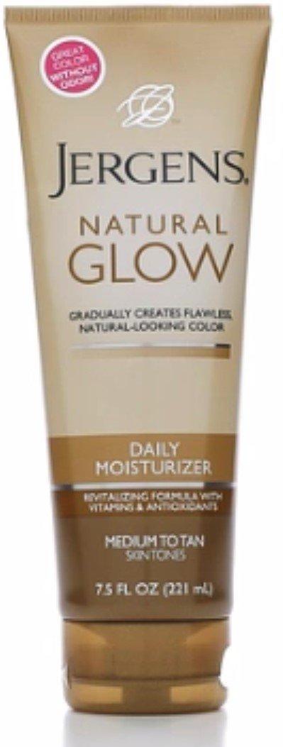 Jergens Nat Glw Med/Tan Size 7.5z Jergens Natural Glow Daily Moisturizer For Medium/Tan Skin