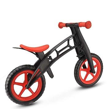 ZMJY Coche de Equilibrio para niños, Bicicleta de Dos Ruedas ...
