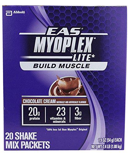Eas Myoplex Lite Nutrition Shake 20/Pk Chocolate Cream (Complete Eas Protein)