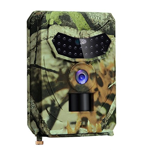 HD 1080P/12MP, Infrared LED Night Vision 10M/65FT, 0.5 S Triggering Time, IP56 Waterproof Hidden Hunting Camera...