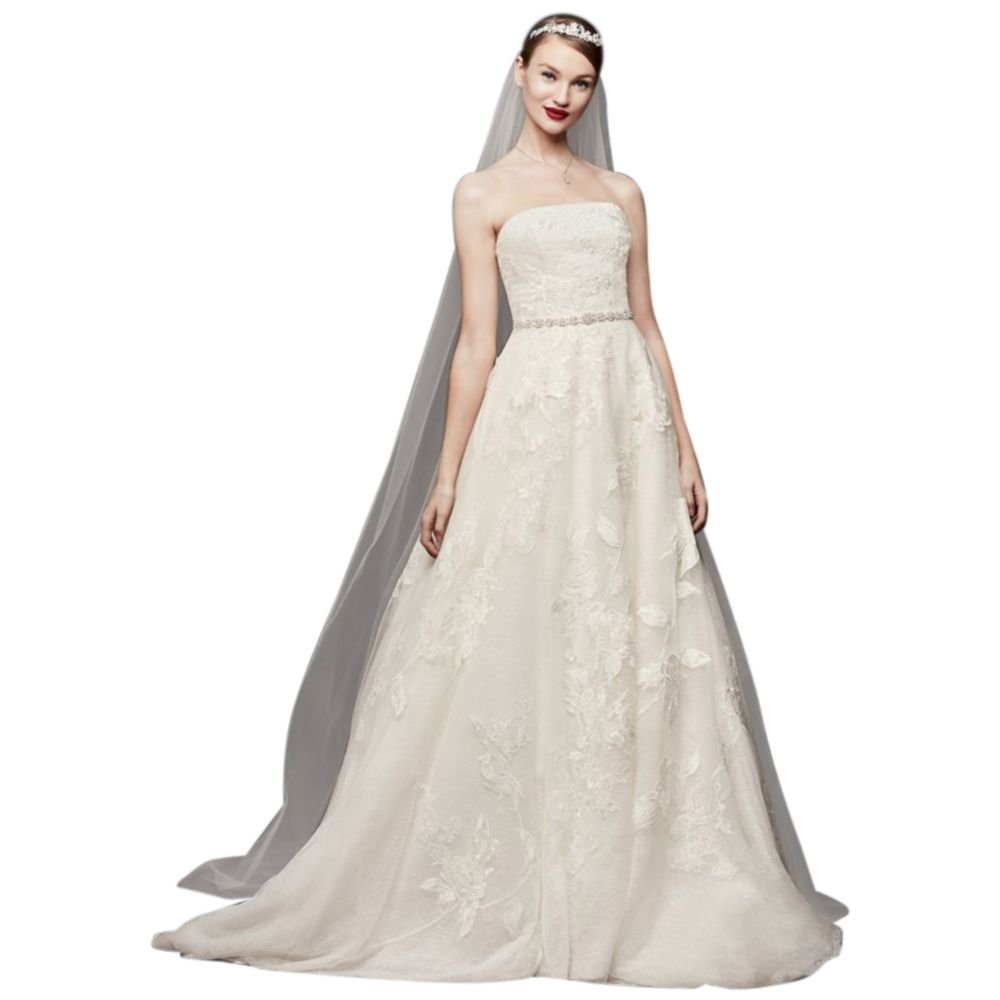 English Rose Lace Ball Gown Wedding Dress Style Cwg803 At Amazon