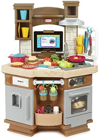 Amazon Com Little Tikes Cook N Learn Smart Kitchen Toys Games