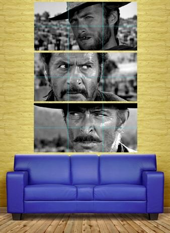 Eastwood Movie Photo - THE GOOD THE BAD AND THE UGLY CLINT EASTWOOD 3 GIANT POSTERS PRINTS XXXL NC6010