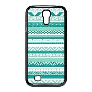 Samsung Galaxy S4 9500 Cell Phone Case Black Anchor Pattern Esct