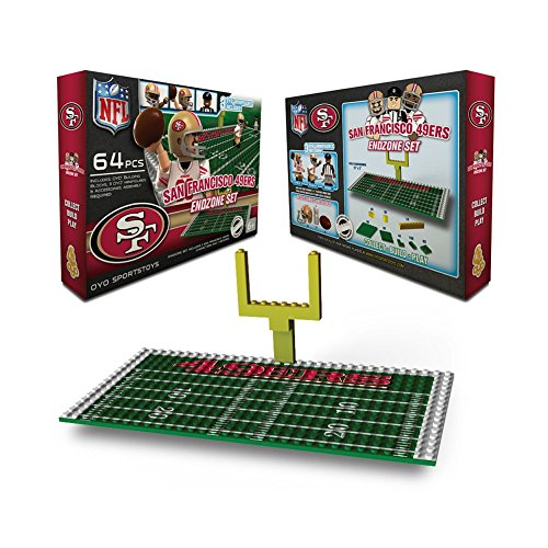 (NFL San Francisco 49ers Endzone Toy Set)