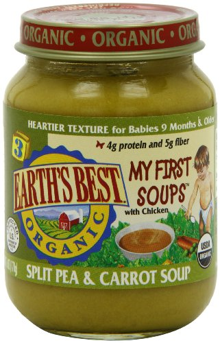 Earth's Best 3rd Foods, My First Soups Variety Pack, 6-Ounce Jars (Pack of 8)