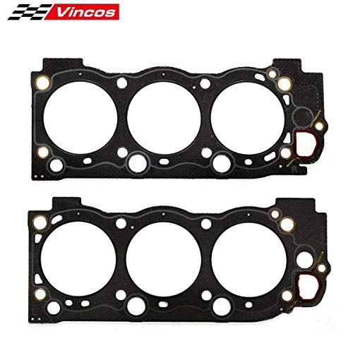 Vincos Lower Gasket Set Replacement For 1997-2011 GMC Ford Isuzu Saab 5.7L 6.0L 6.2L OHV LS3 VIN H M