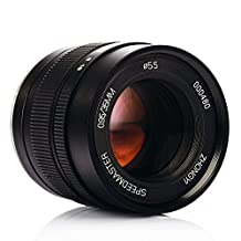 TARION Zhongyi Speedmaster 35mm F0.95 Large Aperture Lens II Portable Compact for Fuji X Mount APS-C Mirrorless Cameras