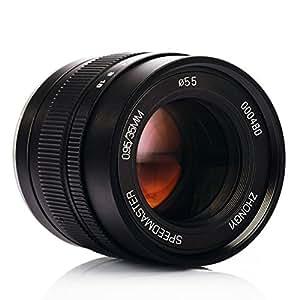 Zhongyi Speedmaster 35mm F0.95 Large Aperture Lens II Portable Compact for Fuji X Mount APS-C Mirrorless Cameras