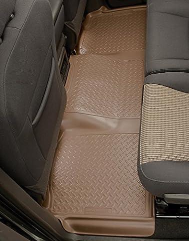 Husky Liners 2nd Seat Floor Liner Fits 07-13 Silverado/Sierra 1500 Crew Cab (Husky 61521)