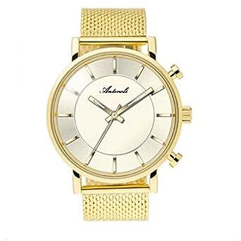 Armbanduhr Damen antoneli Stahl Klar Gelb 40 mm ag6182 – 18