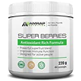 AMRAP Nutrition - Super Berries - All Natural Organic Super Berry Juice Blend - Antioxidant Rich Formula - Supports Immune System - Reduces Oxidative Stress from Workouts