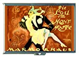 Montmartre Carnival Vintage Ad Stainless Steel ID