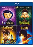 The Ultimate Laika Collection 4-Disc Set ( Coraline / Kubo and the Two Strings / The Boxtrolls / ParaNorman ) [ Blu-Ray, Reg.A/B/C Import - Denmark ]