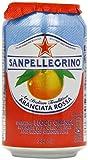 italian blood orange soda - San Pellegrino Aranciata Rossa Blood Orange 6 X 33 Cl (Pack Of 4, Total 24)