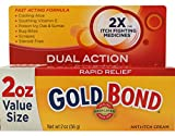 Gold Bond Rapid Relief Anti Itch Cream, 2 Ounce
