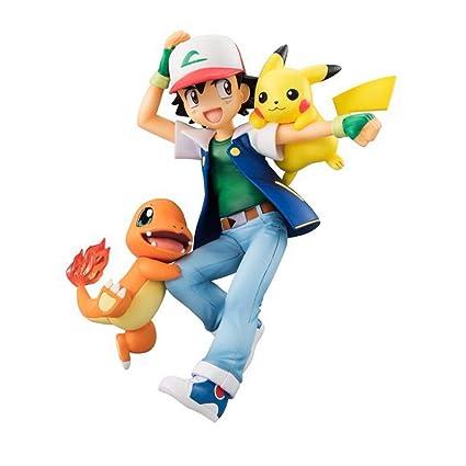 Wswjjxb Pokémon Xiaozhi Pikachu Little Fire Dragon Hand