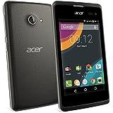 """Acer Liquid Z220 Dual SIM 8GB Black - smartphones (10.2 cm (4""""), 1 GB, 8 GB, 5 MP, Android, Black)"""