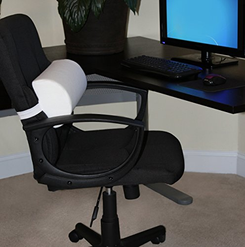 Lumbar Roll Back Support Pillow For Chair Backrest Cushion