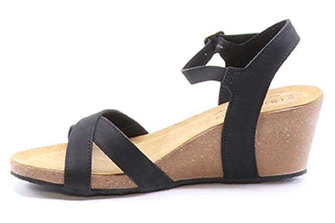 67cb9d901c523 Amazon.com | Bos. & Co. Women's Lucca Wedge Sandal | Platforms & Wedges
