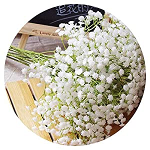 Real Touch Wedding Artificial Flowers Baby Breath Flowers Home Decoration Party Decor Stars Flowers Bride Bouquet 14