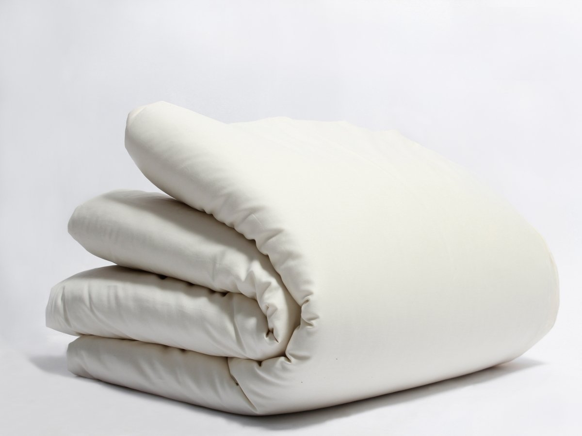 Organics and More Naturesoft Organic Cotton 280 TC Full/Qn. Sateen Duvet Cover by Organics and More