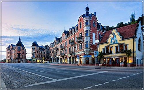 - Dresden-Germany-city-morning-road-restaurant-coffee-shop Postcard Post card