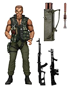 Figurine 1/6 Commando  John Matrix  Machinegun