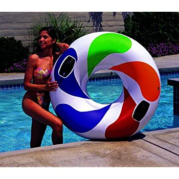 Amazon.com: Airhead ahho-1 Hoopla 1 persona piscina/agua ...
