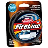 Berkley Fireline Fused Crystal Superline 300 Yd Spool(14/6-Pound,Crystal)
