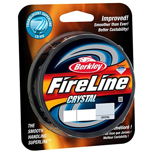 Berkley FireLine Crystal Fishing Line 300 – yd., CRYSTAL, 6 LB
