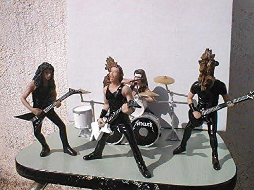 Set Metallica figuras en resina Polystone comic 12cm altas: Amazon.es: Juguetes y juegos