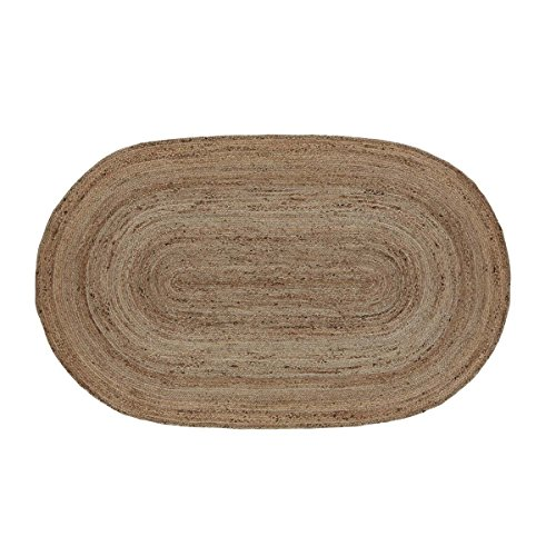 VHC Brands Natural Jute Oval