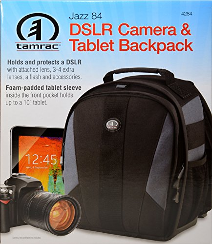 Foam Tamrac (Tamrac Jazz 84 Backpack - Black)