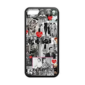 Lucy Lucille Ball Scratch-Resistant Protective Hard Cover for iPhone 5C