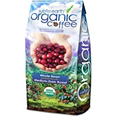 Cafe Don Pablo Subtle Earth Organic Whole Bean Gourmet Coffee