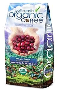 2LB Cafe Don Pablo Subtle Earth Organic Gourmet Coffee - Medium-Dark Roast - Whole Bean Coffee USDA Certified Organic, 2 Pound