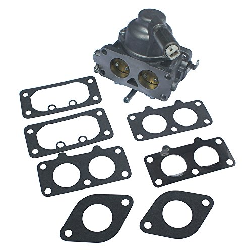 KIPA Carburetor Carb Replacement for Briggs & Stratton 791230 799230 699709 499804 V-Twin 20hp 21hp 23hp 24hp 25hp Manual Choke with Gasket ()
