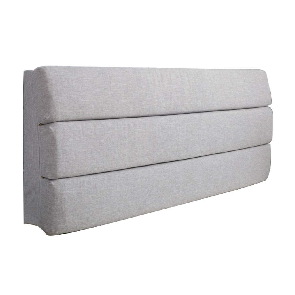 読書クッションベッド背もたれクッションボルスタポジショニングサポート読書枕ヘッドボードクッション布張り洗えるカバー (Color : 7, Size : 180*60*6) B07TGD8DWC
