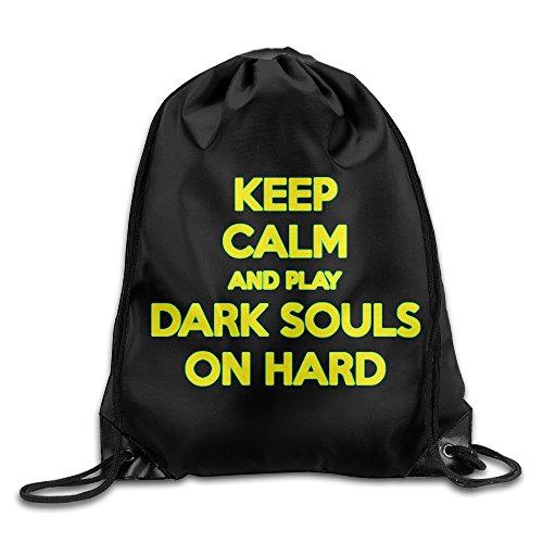 Logon 8 Keep Calm And Play Dark Game On Hard Comfortable Sport Bag One Size
