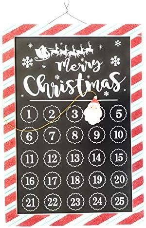 [해외]Ashland Merry Christmas Santa Claus Reusable Magnetic Advent Calendar / Ashland Merry Christmas Santa Claus Reusable Magnetic Advent Calendar