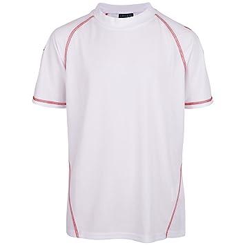 Kappa BMG – Camiseta de fútbol Alfa Blanco Blanco Talla:116