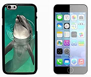 Dolphins Hard Plastic and Aluminum Back Case FOR Apple iPhone 6 6G 4.7
