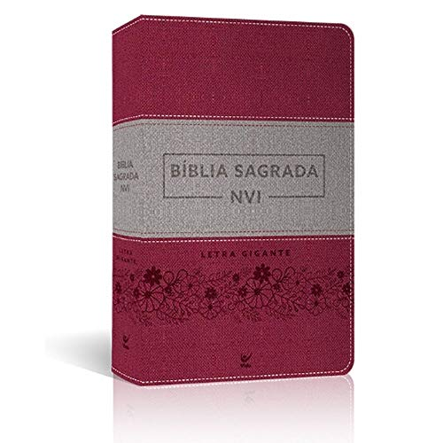 Bíblia Letra Gigante Luxo Cinza